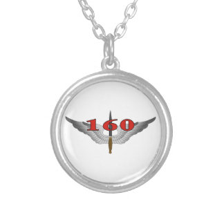 160th Special Operations Aviation Regiment (SOAR) Round Pendant Necklace