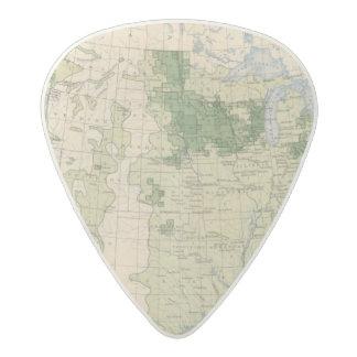 161 Barley/sq mile Acetal Guitar Pick