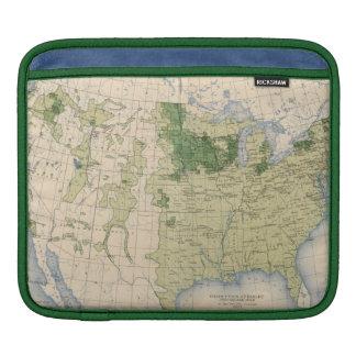 161 Barley/sq mile iPad Sleeve