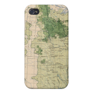 161 Barley/sq mile iPhone 4/4S Cover