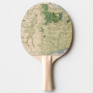 161 Barley/sq mile Ping Pong Paddle
