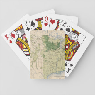 161 Barley/sq mile Playing Cards