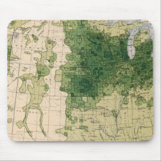 162 Hay, forage/sq mile Mouse Pad