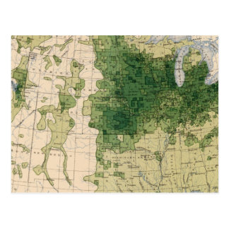 162 Hay, forage/sq mile Postcard