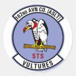 162nd AHC Round Sticker