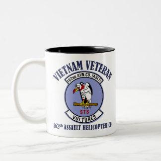 162nd AHC - Vietnam Veteran Two-Tone Coffee Mug