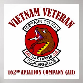 162nd Avn Co (AH) Vietnam Poster