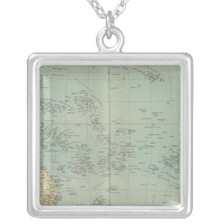 16465 Oceania policy Silver Plated Necklace