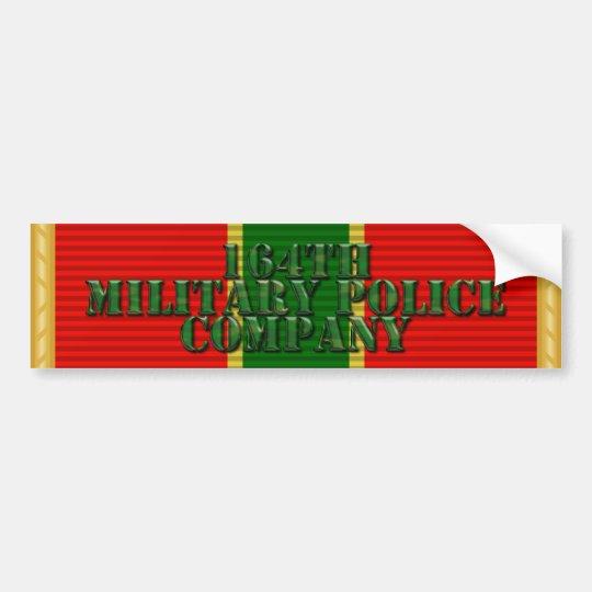 164th MP Co. Bumper Sticker