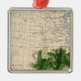 165 Cotton/sq mile Christmas Ornament