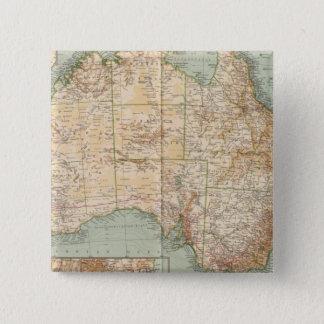 16667 Australia 15 Cm Square Badge