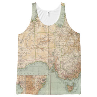16667 Australia All-Over Print Tank Top