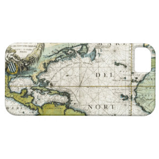 1691 Atlantic Nautical Chart Case For The iPhone 5