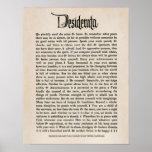 1692 - Desiderata Poster