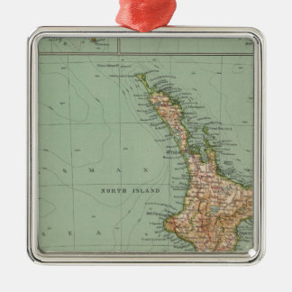 169 New Zealand, Hawaii, Tasmania Christmas Ornament