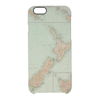 169 New Zealand, Hawaii, Tasmania Clear iPhone 6/6S Case