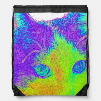 $ 16.95 / €  13.10 Meow kid's fashion Backback Drawstring Bag