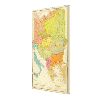 16 a European ethnographic Canvas Print