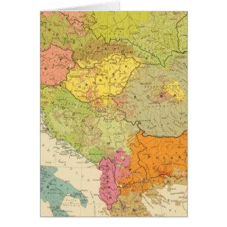 16 a European ethnographic Card