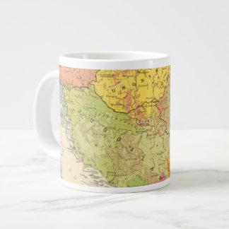 16 a European ethnographic Large Coffee Mug