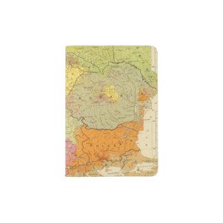 16 a European ethnographic Passport Holder