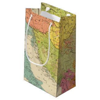 16 a European ethnographic Small Gift Bag
