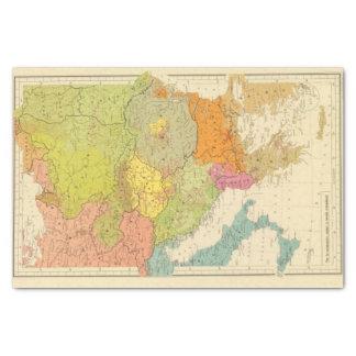 16 a European ethnographic Tissue Paper