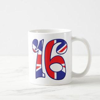 16 Age UK Basic White Mug