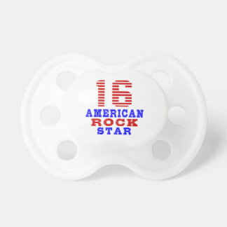 16 American rock star BooginHead Pacifier