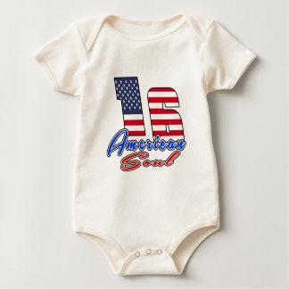 16 American Soul Birthday Designs Baby Bodysuit