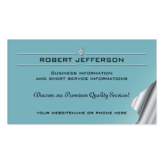 16 Business Card Facility Management Finance