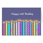 16 Candles 16th Birthday Card