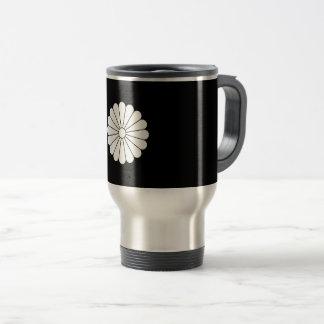 16 chrysanthemum travel mug