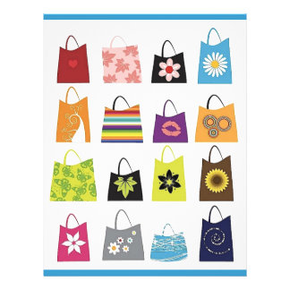 16 Free Vector Shopping Bags 21.5 Cm X 28 Cm Flyer