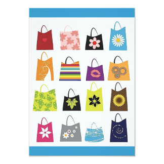 16 Free Vector Shopping Bags Card