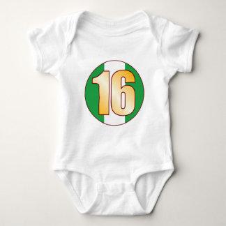 16 NIGERIA Gold Baby Bodysuit
