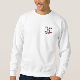 16 Octavian/Augustus' 16th Legion - Roman Lion Sweatshirt