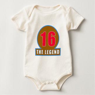 16 The Legend Birthday Designs Bodysuit