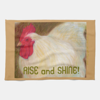 """16"""" x 24"""" Chicken Kitchen Towel"""