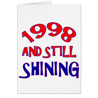 16 years Old birthday designs Greeting Cards