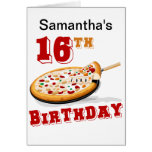 16th Birthday Pizza Party