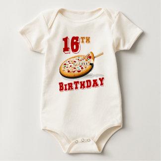 16th Birthday Pizza Party Bodysuit