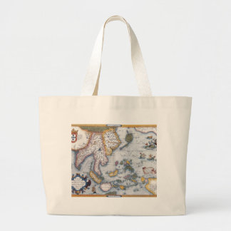 16th Century Map of South East Asia and Indonesia Jumbo Tote Bag