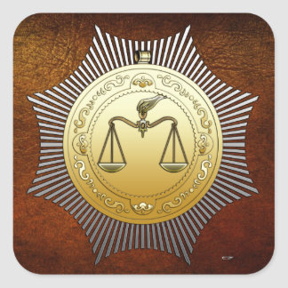 16th Degree: Prince of Jerusalem Square Sticker