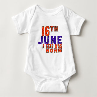 16th June a star was born Tshirts