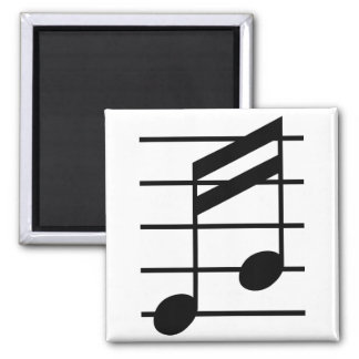 16th note 3 square magnet