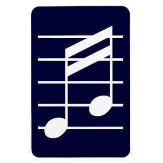 16th note 4 rectangular magnet