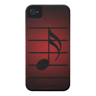 16th note iPhone 4 Case-Mate cases