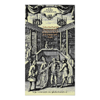 1700's Vintage coffee house poster