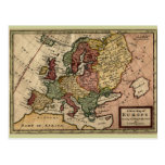 1721 Map of Europe